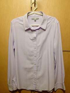 (Uniqlo) Long sleeves Polo