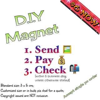 🚚 Customised/ Personalised Magnet.