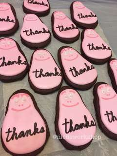 Thank you cookies 散水餅 糖霜曲奇 Barbapapa