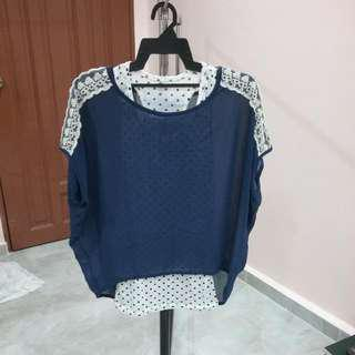 2pcs Type Blouse
