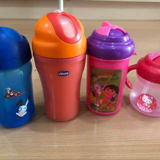 Assorted sippy cup