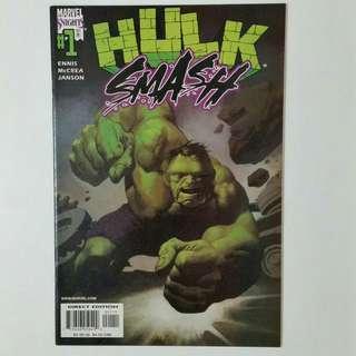 Hulk Smash No. 1&2 comics