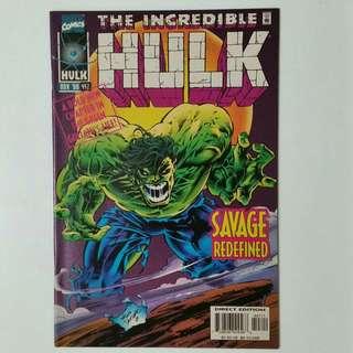 Incredible Hulk No. 447 comic