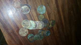 30 Piece random foreign coins for free