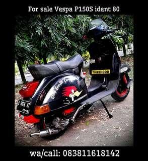 Vespa P150S ident 80