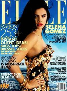 Elle magazine July 2012 Selena