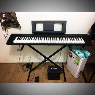 YAMAHA NP-32 76鍵電鋼琴 99成新附多種配件