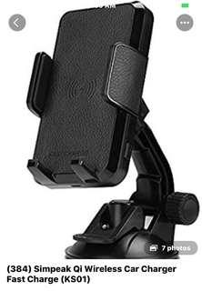 384• Simpeak QI wireless car charger