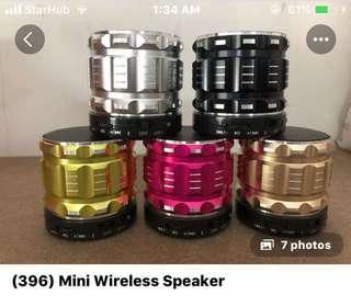 396• Wireless bluetooth speaker