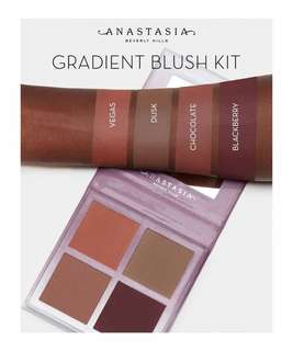 🚚 Anastasia Gradient Blush Kit