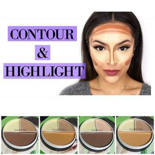 🚚 KISS BEAUTY CREAM CONTOUR  3IN1