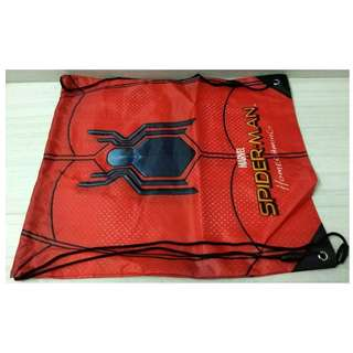 SPIDER-MAN HOMECOMING MOVIE: DRAWSTRING BAG x 1
