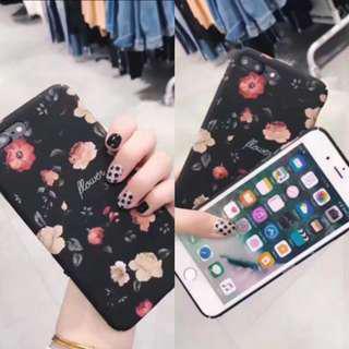 Iphone 7plus floral casing