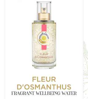 Roger & Gallet d'Osmanthus fragrant wellbeing water