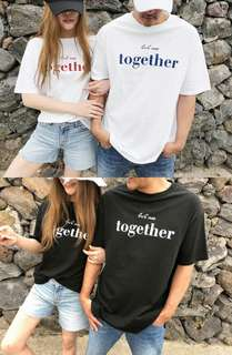 🚚 We Are Together Unisex Design Apparel Tshirt Tee