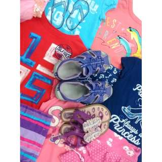 (27E) Girls' clothes up to size 16