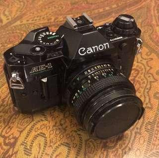 🚚 Canon Ae-1 programme
