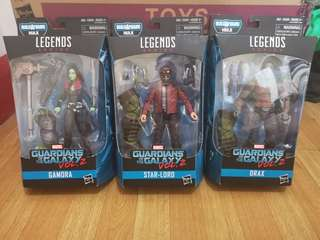Marvel Legends Guardians of The Galaxy Vol. 2 set