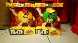 全新1995年M&M's棒球糖果機