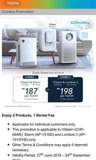 Coway Air + Water Purifier