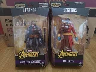 Marvel Legends Black Knight + Malekith Set