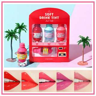 NEW!! Etude House Soft Drink Tint