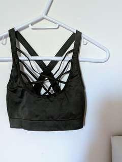 Victoria Secret Sports Bra w/ Front Detail (Size Medium)