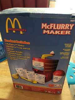 Mckids McFlurry maker