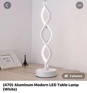 470• Aluminum modern LED table lamp