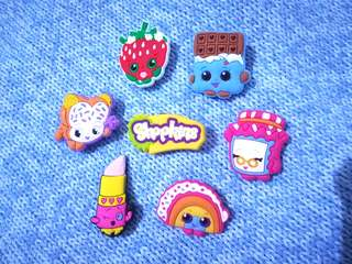 Jibbitz Inspired Crocs Charms: Shopkins