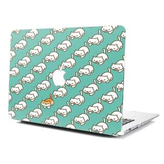 Super cute cat Macbook Hard Cover