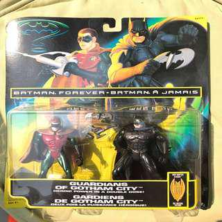 Vintage Kenner Batman Forever Batman and Robin