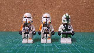Lego Star Wars Clone Troopers Super Lot