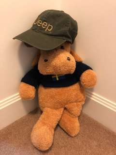 Jeep baseball cap (Malcolm the moose model not included)