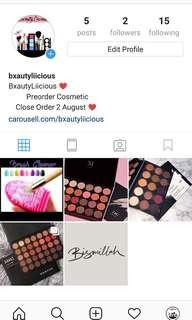 Instagram!! FOLLOW ME @bxautyliicious