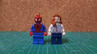 Lego Marvel Spiderman & Lois Lane Combo Set