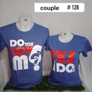 COUPLE TSHIRT SET