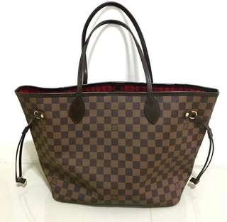 LV Neverfull PM Damier Authentic