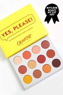 Yes Please! Palette