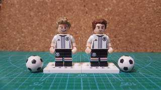 Lego Germany Team World Cup 2014 Super Lot