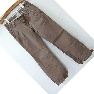 OLD NAVY 咖啡色 休閒長褲 工作褲 7號