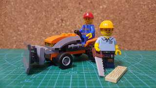 Lego Construction Worker Combo