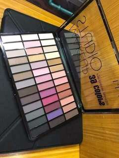 39 color eyeshadow palette