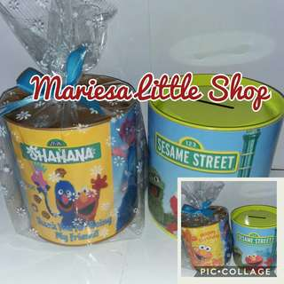 Personalised Sesame Street Savings Box Party Pack