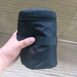 Lens belt pouch