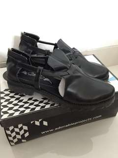 Adorable Projects Shoes 'Shettery Black Boots'