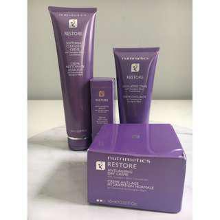Nutrimetics Restore Skin Care Set