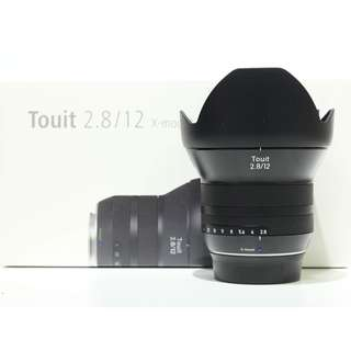 Zeiss Touit 12mm F2.8 For Fujifilm X-Mount
