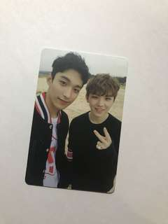 [WTS] SEVENTEEN Woozi & DK official photocard