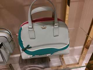 before 29/7前收訂 Kate spade 限量版鱷魚 ,可斜揹真皮手袋 Limited edition crocodile leather crossbody hand bag